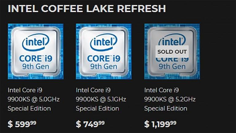 Venden este procesador i9-9900KS ¡por 1200 dólares!