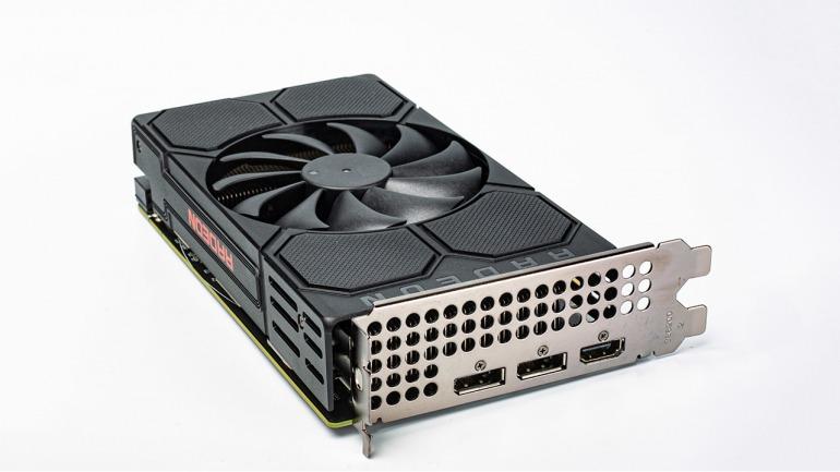 Según las primeras pruebas, la tarjeta gráfica RX 5500 es tan rápida como la RX 580