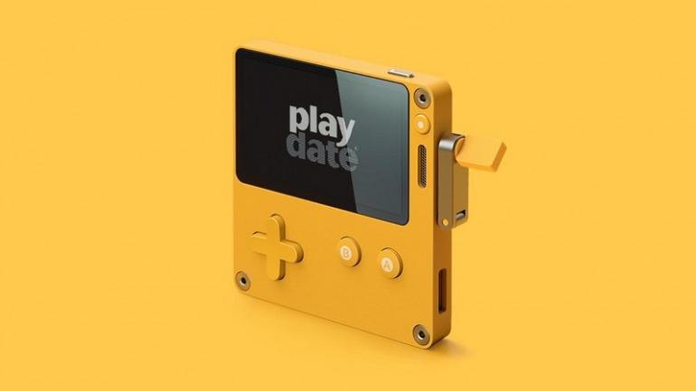 Playdate, la consola portátil con manivela, estará pronto en manos de los desarrolladores