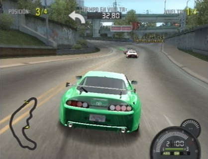 Need for Speed ProStreet PS2