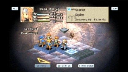 FF Tactics War of Lions PSP