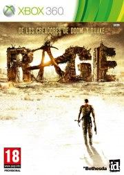 Carátula de RAGE - Xbox 360