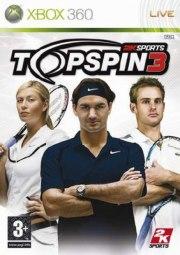 Carátula de Top Spin 3 - Xbox 360