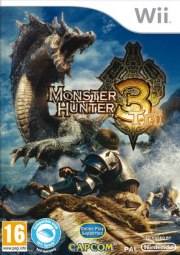 Carátula de Monster Hunter 3 - Wii