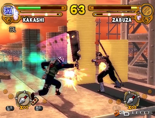 Naruto Ultimate Ninja 3 - An�lisis