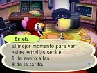 Animal Crossing Wii - Pantalla