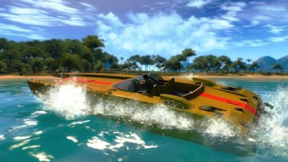 Just Cause 2: Just Cause 2: Avance