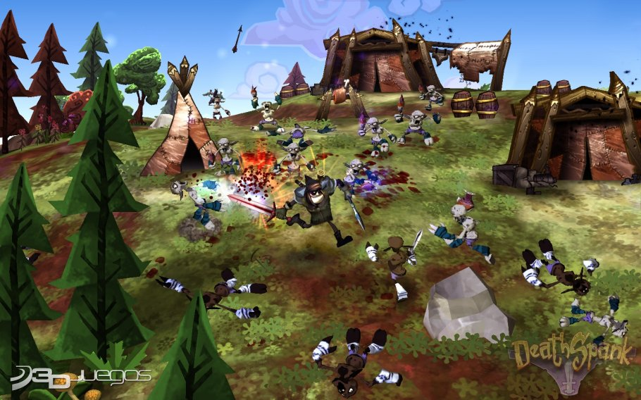 DeathSpank - Impresiones EA Showcase