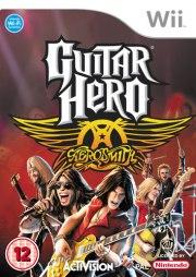 Carátula de Guitar Hero: Aerosmith - Wii