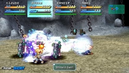 Star Ocean Second Evolution PSP