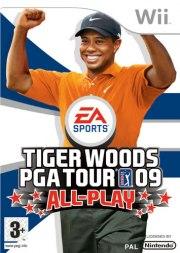 Carátula de Tiger Woods PGA TOUR 09 - Wii