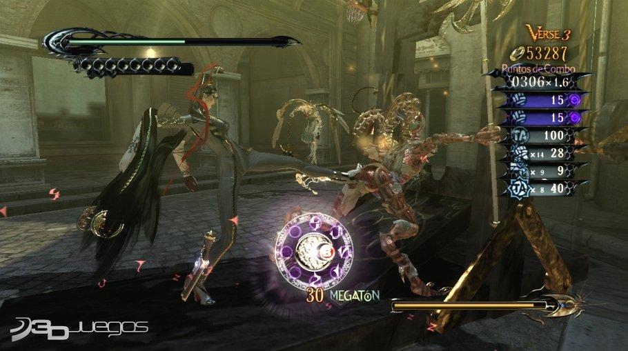 Análisis De Bayonetta Para Xbox 360 3djuegos