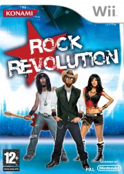 Carátula de Rock Revolution - Wii
