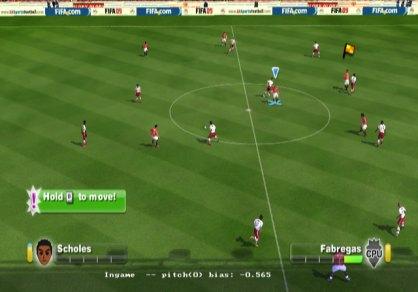 FIFA 09: FIFA 09: Entrevista e impresiones en un vivo reportaje