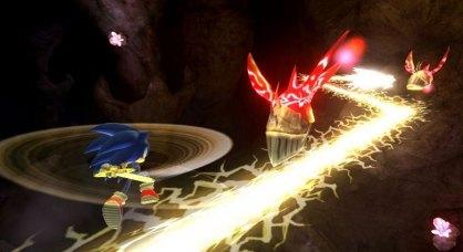 Sonic y el Caballero Oscuro Wii