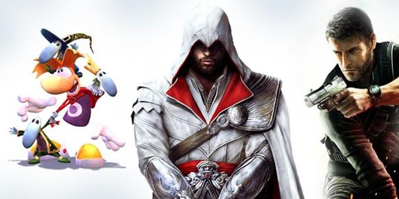 Rayman, Altair, Ezio, Sam Fisher, Jade, los Rabbids... otra de las claves de Ubisoft para lograr su éxito está en sus emblemáticos personajes, los cuales forman ya parte del corazón de muchos jugadores.