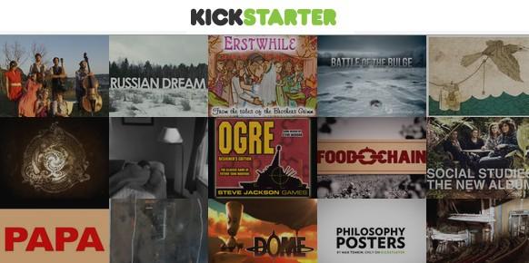 Existen varias plataformas dedicadas a la financiación colectiva, pero Kickstarter (creada en 2009) es un de las más populares.