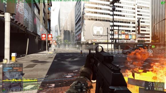 Battlefield 4 ha sido uno de los juegos abanderados por Mantle, mejorando su rendimiento y ganando frames por segundo.