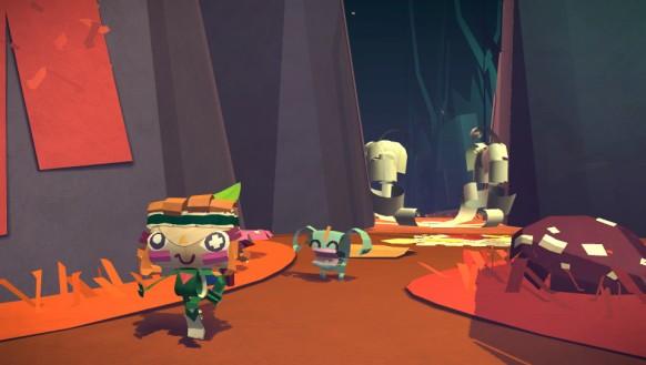 Tearaway es un claro ejemplo de juego pensado específicamente para aprovechar todas las funciones de control de PS Vita.
