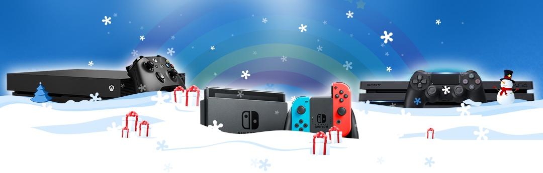 ¿Qué consola comprar estas Navidades?