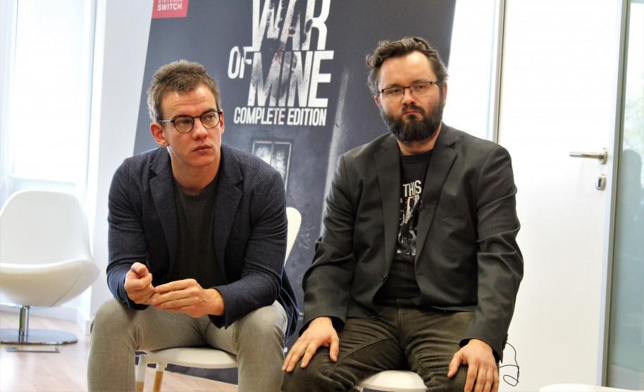 Tomasz Tomaszewski (responsable de la versión de Switch) y Pawel Miechowski (guionista principal) nos hablaron sobre el objetivo de This War of Mine.