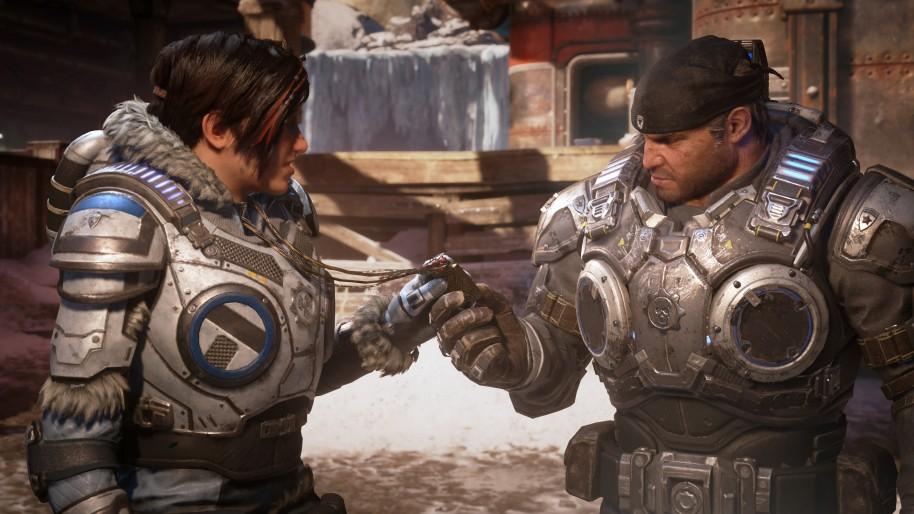 A pesar de que Gears of War con The Coalition coge ideas de formato serie, la inspiración de sus personajes es totalmente Mad Max: Fury Road.