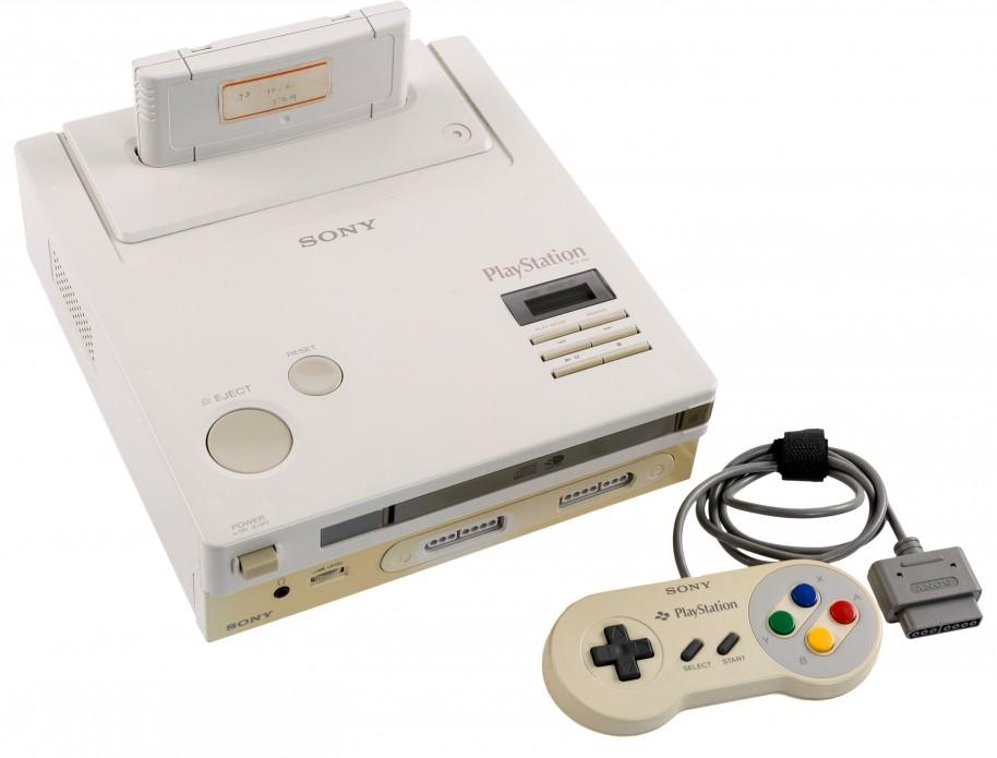 Este prototipo de PlayStation ejecutaba cartuchos de SNES y juegos en formato CD. Jamás llegó a comercializarse. Foto: Heritage Auctions