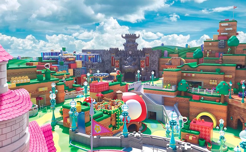 Una de las últimas maniobras de Miyamoto está en Super Nintendo World, proyecto de parque de atracciones que se espera que abra en verano.