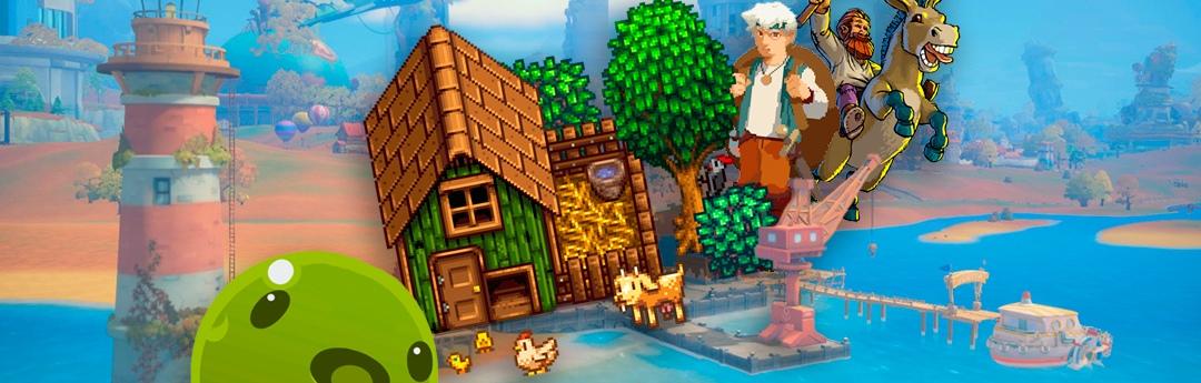 Los mejores juegos de granjas, gestión de negocios y exploración para relajarse y disfrutar