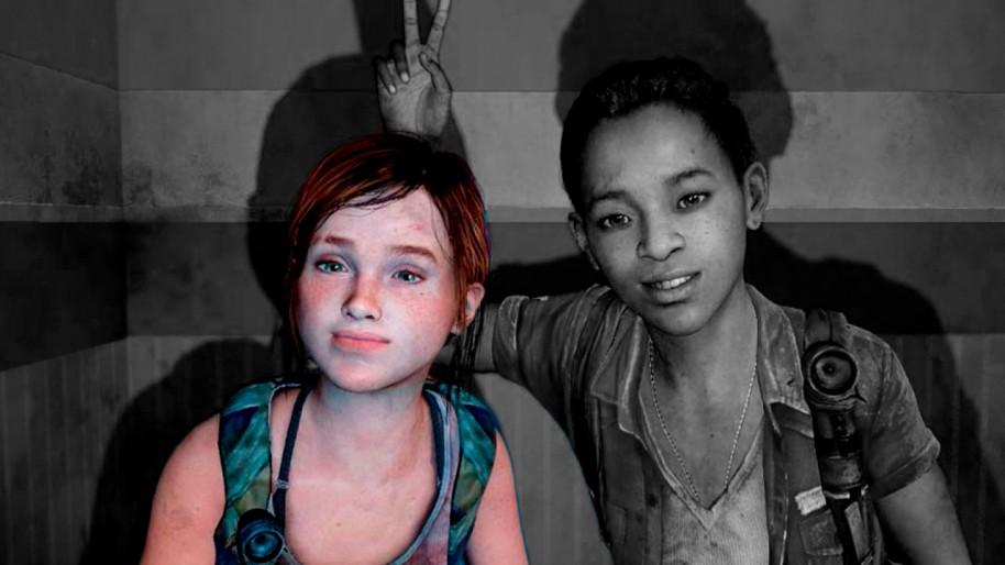 Ellie y Riley, protagonistas de la expansión Left Behind de The Last of Us