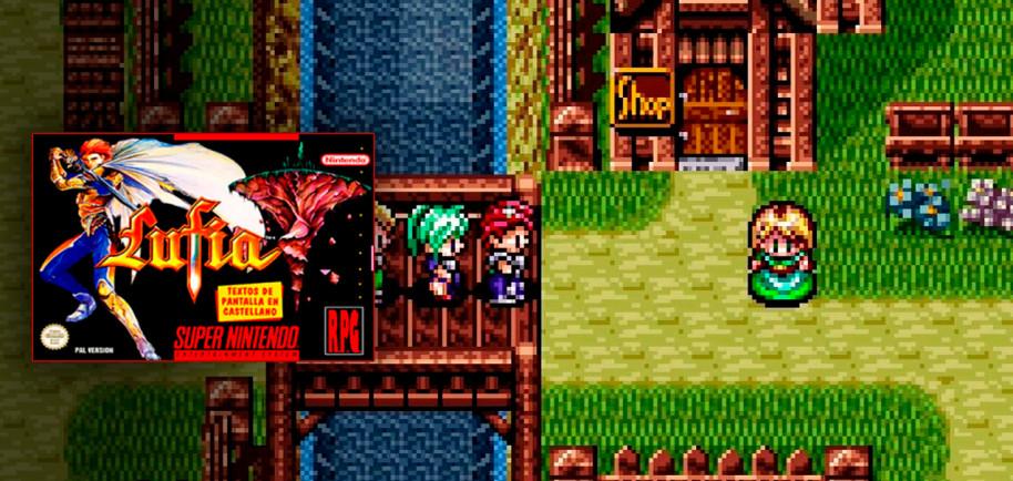 La presencia de puzles y la forma en la que se integran en la historia.  Su secuela, Lufia II, tuvo un remake para Nintendo 3DS llamado Lufia: Curse of the Sinistrals.