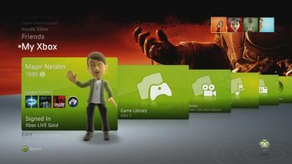 Los Avatares serán, de ahora en adelante, nuestra imagen en el interfaz de Xbox 360. Estarán presentes en todo momento al lado de nuestro gamertag y puntuación.