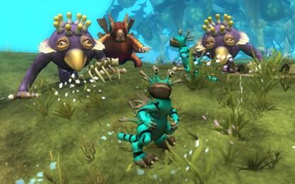 En pantalla Spore, uno de los videojuegos más esperados del pasado 2008. Su éxito rotundo en la vertiente comercial no disipó las dudas de muchos aficionados sobre la verdadera validez de sus contenidos.