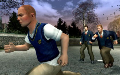 En Rockstar gustan de conectar sus Sandbox unos con otros. En GTA IV aparecía fugazmente Jimmy Hopkins, protagonista de Canis Canem Edit. Podía vérsele caminando por Playa de Hove y en una cinemática bailando en una fiesta.