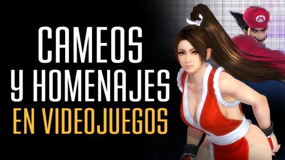 Reportaje de Cameos y homenajes de videojuegos