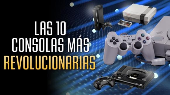 Reportaje de Las 10 Consolas de videojuegos más Revolucionarias