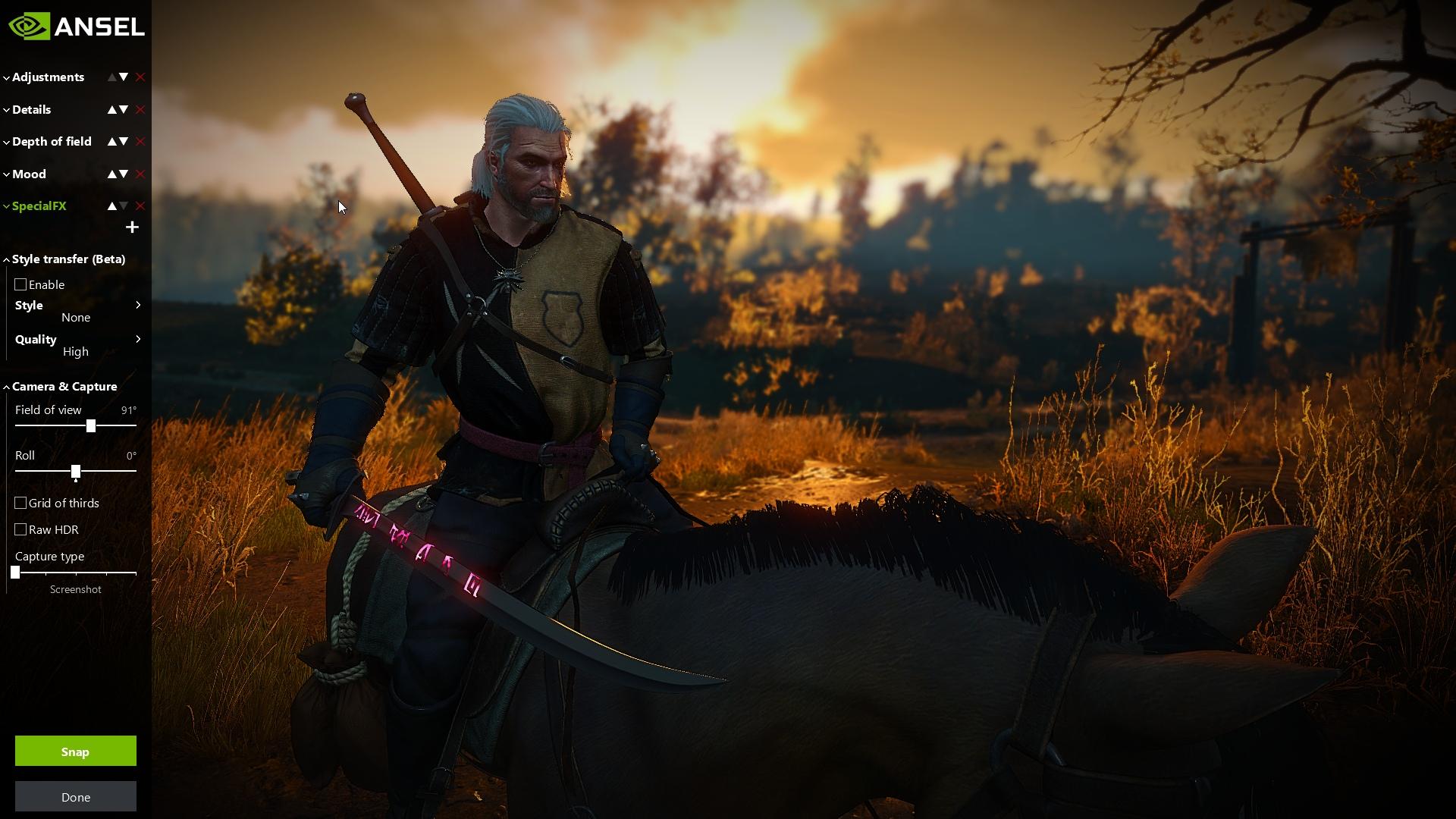 Nvidia Ansel: La mejor forma de capturar imágenes dentro del juego