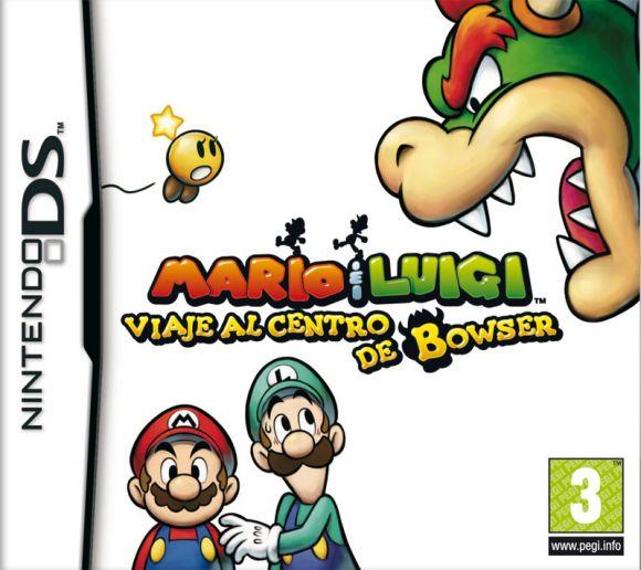 Car�tula de Mario & Luigi: Viaje al Centro de Bowser