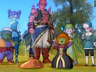 Dragon Quest X - Pantalla