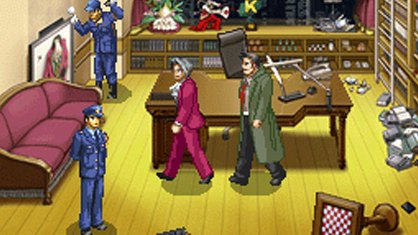 Ace Attorney Miles Edgeworth DS