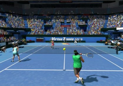Virtua Tennis 2009: Virtua Tennis 2009: Impresiones jugables