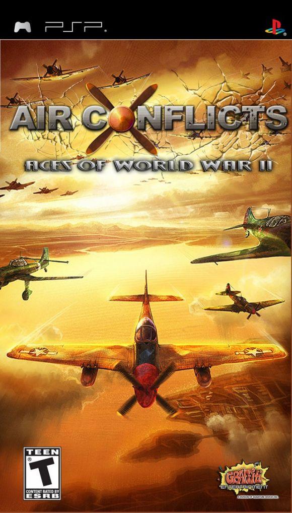 Carátula de Air Conflicts: Aces of World War II