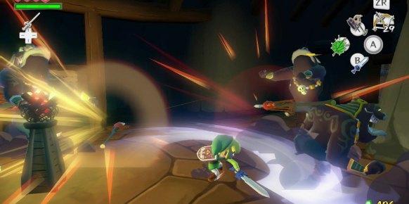 Zelda Wind Waker: Zelda The Wind Waker: Impresiones jugables