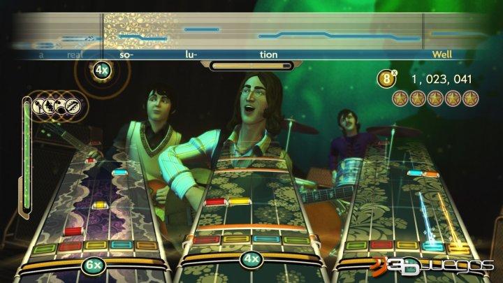 Análisis de The Beatles Rock Band para Xbox 360 - 3DJuegos