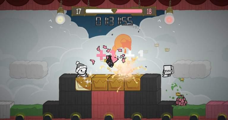 BattleBlock Theater - Pantalla
