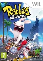 Carátula de Rabbids: Mi Caaasa!!! - Wii
