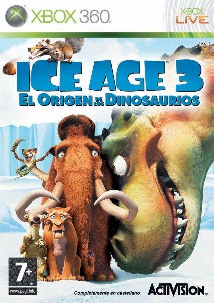 Ice Age 3 El Origen de los Dinosaurios para Xbox 360