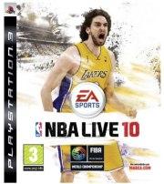 Carátula de NBA Live 10 - PS3