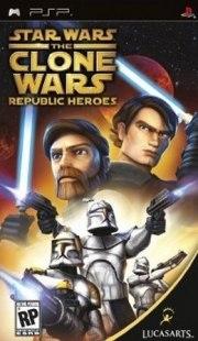 Carátula de Star Wars The Clone Wars: Héroes - PSP