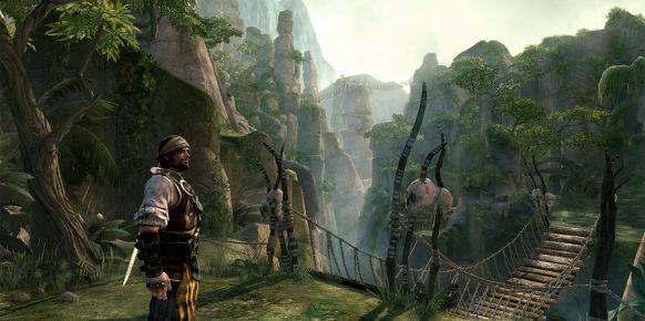Imagen de Pirates of the Caribbean: Armada of the Damned, videojuego cancelado.